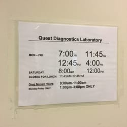 Quest Diagnostics - CLOSED - 50 Reviews - Laboratory Testing