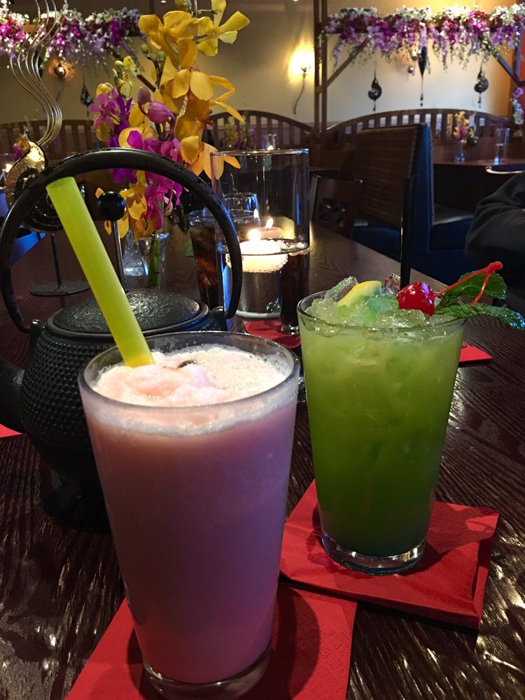 Try the bubble tea yelp for Areeya thai noodle cuisine menu