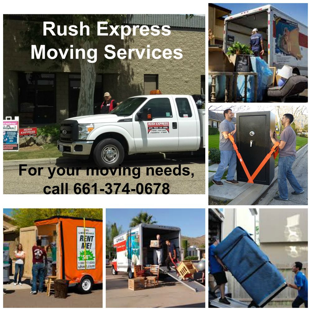 Rush Express Services: 2231 East California Ave, Bakersfield, CA