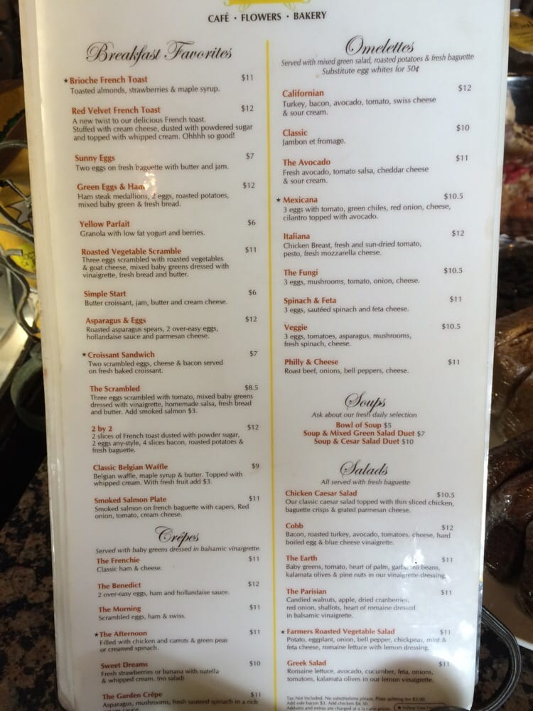 The Other Side Of The Menu Yelp