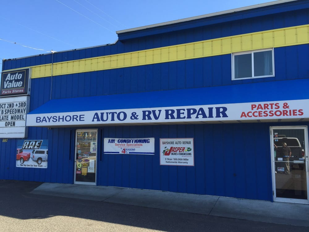 Bayshore Auto Amp Rv Located On Hwy 101 Coos Bay Yelp