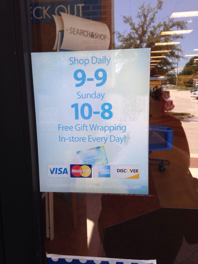 Beall's: 510 Blanding Blvd, Orange Park, FL
