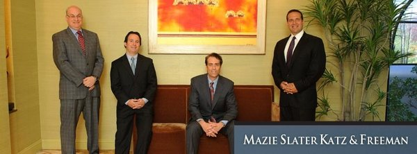 Mazie Slater Katz & Freeman, LLC - New Jersey car accident lawyer