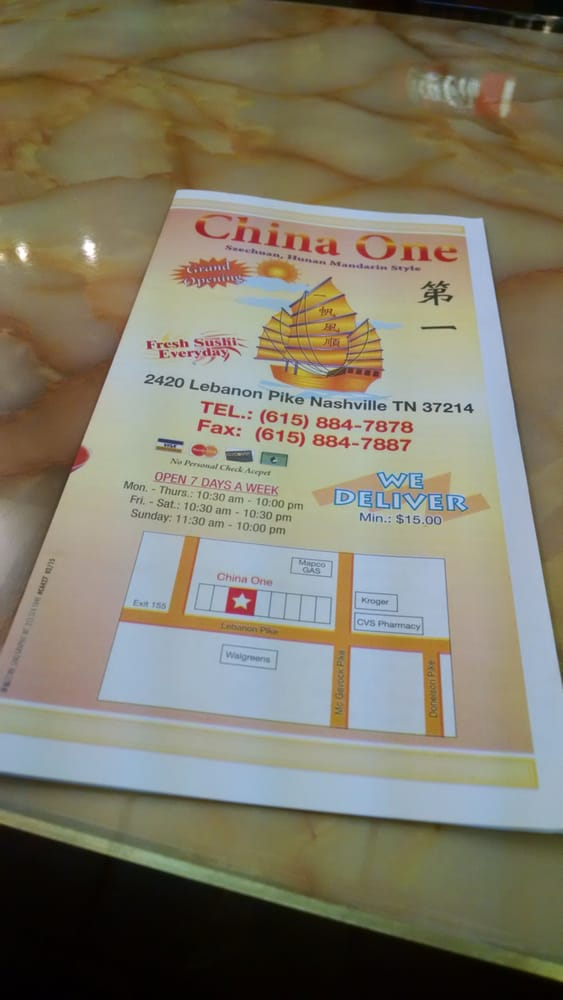 Oil Change Near Me Cheap >> China One - Order Food Online - 23 Reviews - Chinese ...