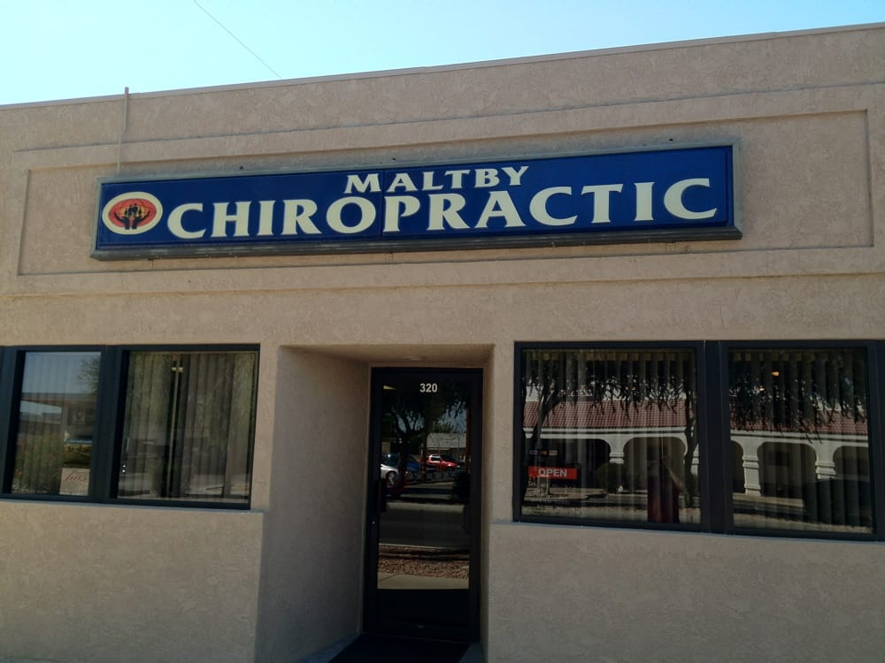 Maltby Chiropractic Office: 320 E Hobsonway, Blythe, CA