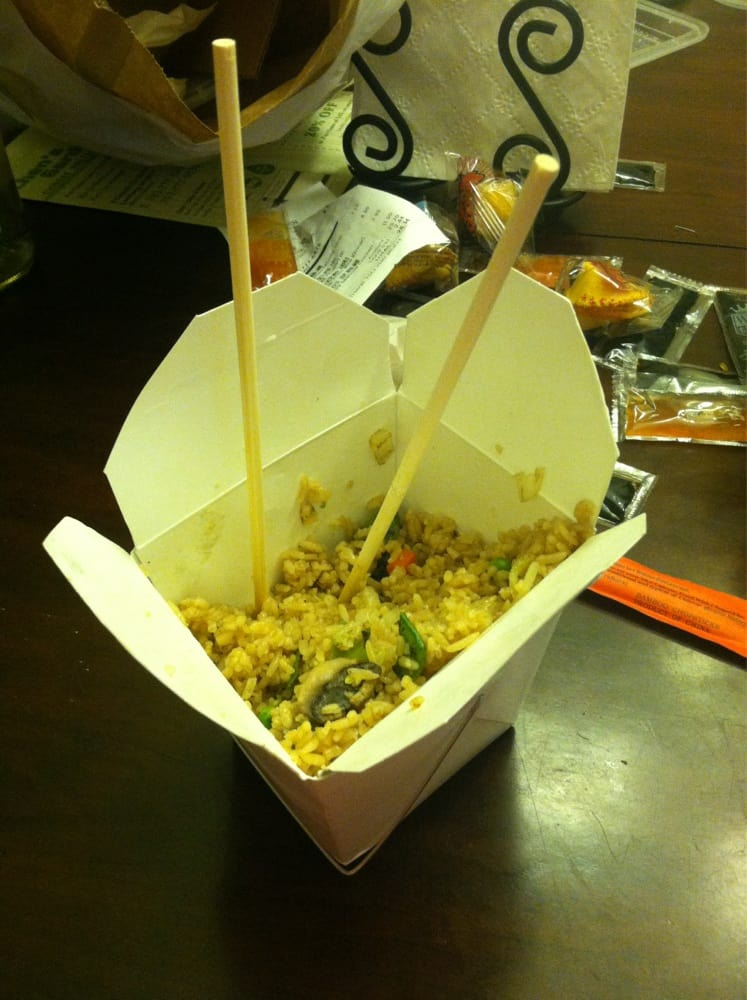 amazing veggie fried rice delicious and filled with all kinds of fresh veggies yelp