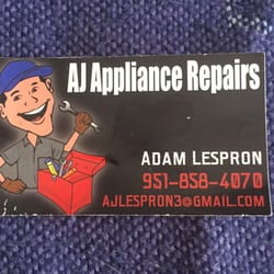 Photo Of Aj Liance Repair Hemet Ca United States