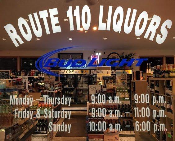 Route 110 Liquors: 25 Macy St, Amesbury, MA