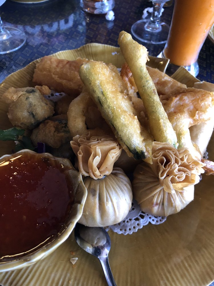 Food from Chanida Thai Cuisine