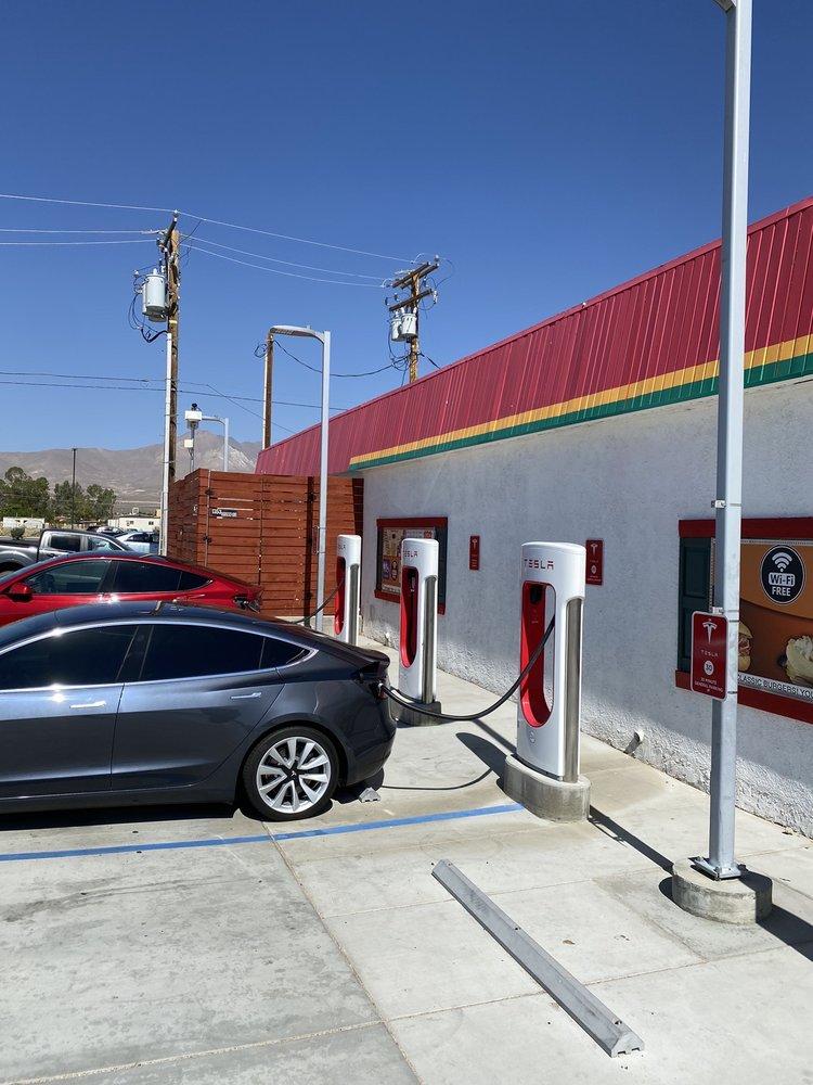 Tesla Supercharger: 1353 Brown Rd, Inyokern, CA