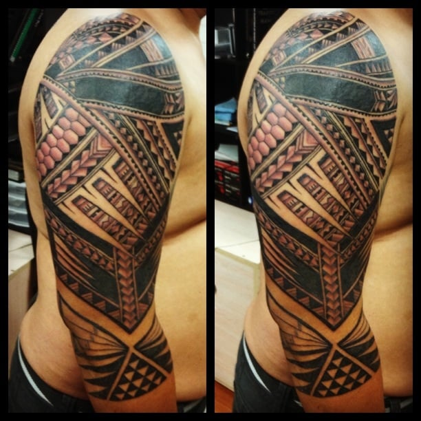 coverup polynesian tattoo art by noel yelp