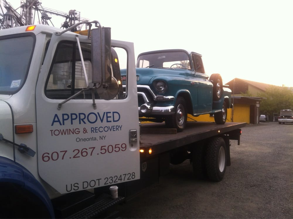 Approved Towing and Recovery: 14 High St, Oneonta, NY