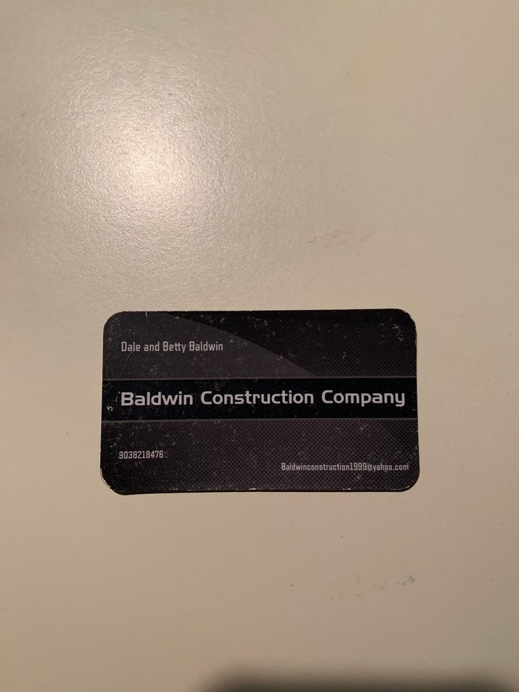 Baldwin Construction: 577 W Hughes, Collinsville, TX
