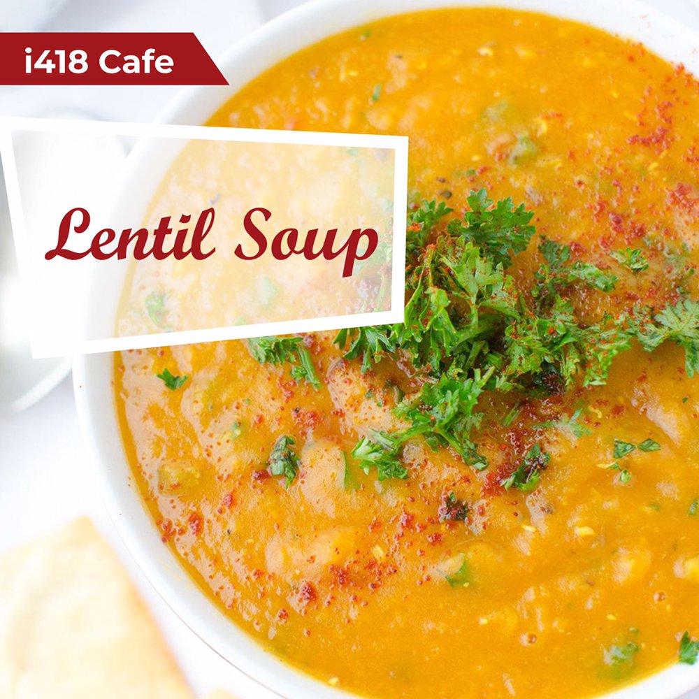 Food from i418 Café