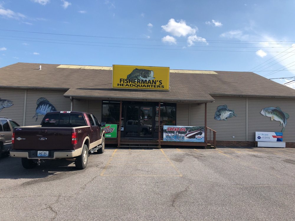 Fisherman's Headquarters: 2754 US Highway 641 N, Benton, KY
