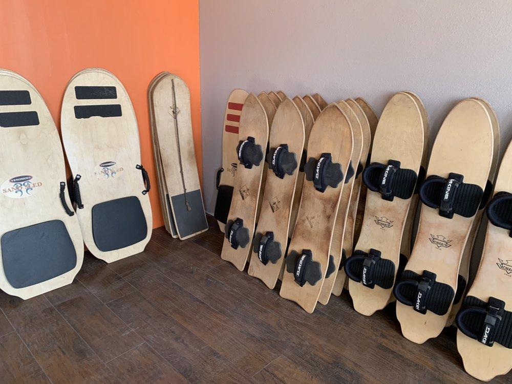 SpinDrift SandBoard Rentals: 616 Main St, Blanca, CO