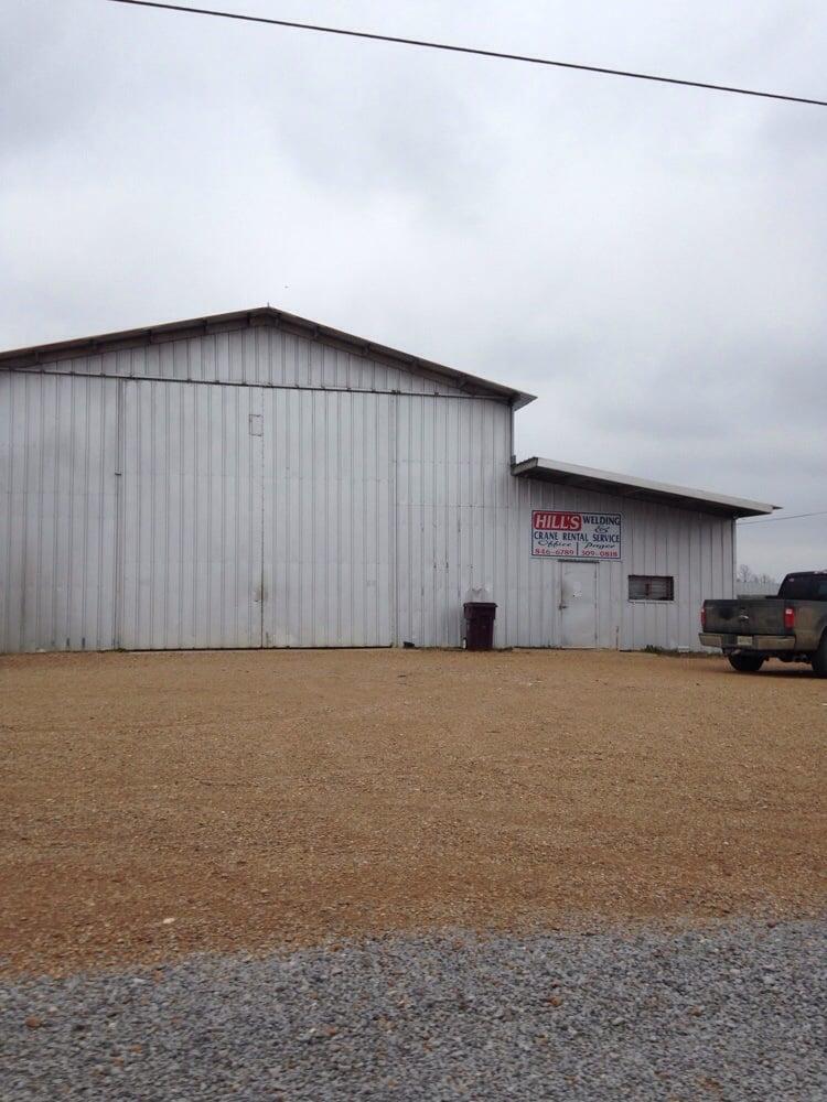 Hill's Welding & Crane Rental Service: 150 N Bolivar County Line Rd, Cleveland, MS