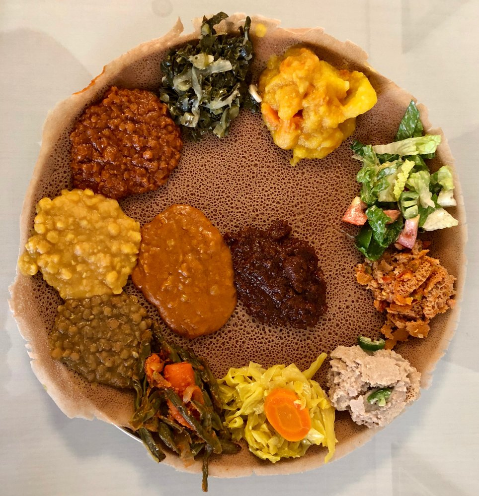 Lalibela Ethiopian Restaurant: 1025 S Fairfax Ave, Los Angeles, CA