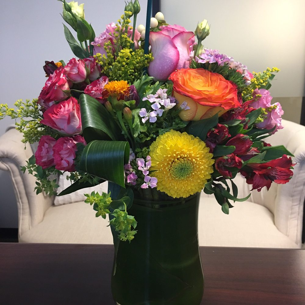 Beautiful Fresh Flowers Delivered To My Office Yelp