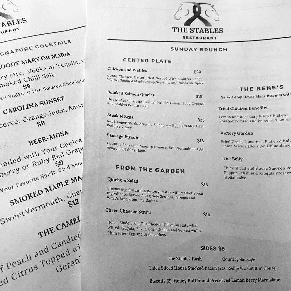 The Stables Restaurant: 221 Greenville St NW, Aiken, SC
