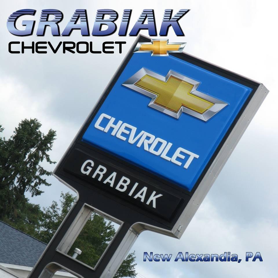 Grabiak Chevrolet: 8282 Route 22 New, Alexandria, PA