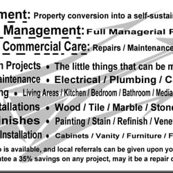 Trident 33 development group get quote 15 photos contractors photo of trident 33 development group morristown nj united states back of back of business card reheart Images