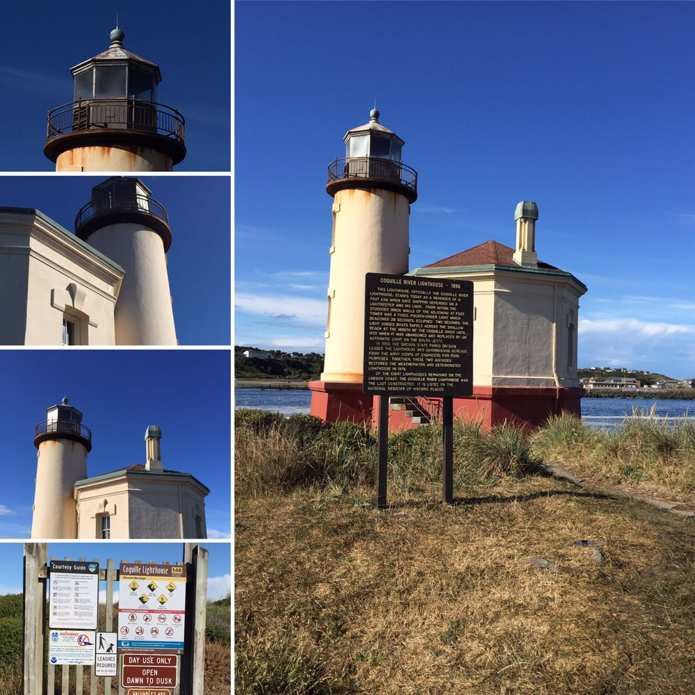 Coquille River Lighthouse: Park Rd, Bandon, OR