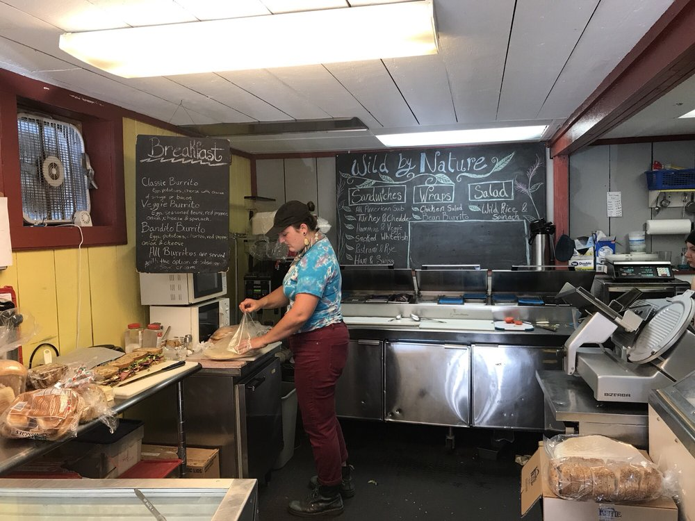 Wild By Nature Deli: 100 Rittenhouse Ave, Bayfield, WI