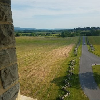 Photo Of Antietam National Battlefield Sharpsburg Md United States Tower In Antietam