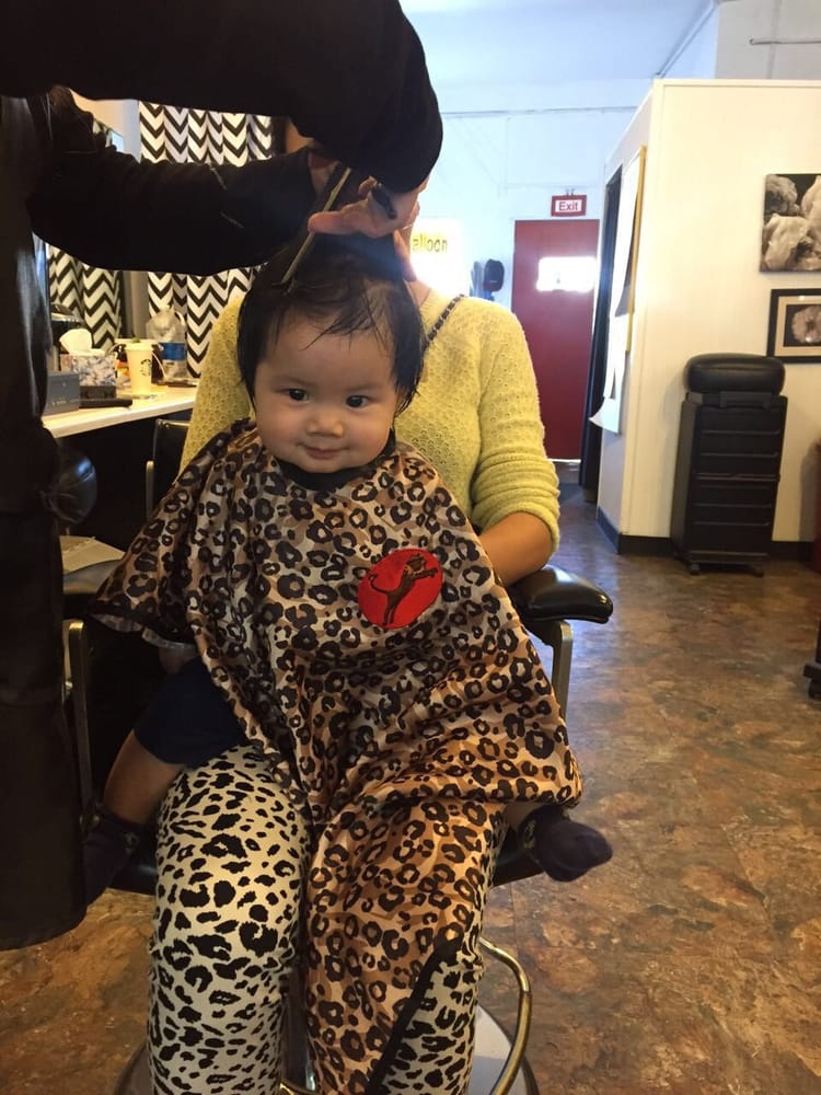 Baby 7month First Time Hair Cut Very Happy Yelp