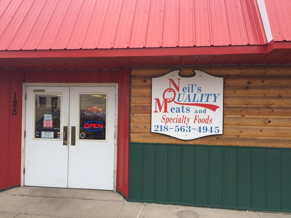 Neils Quality Meats: 125 Cleveland Ave SW, McIntosh, MN