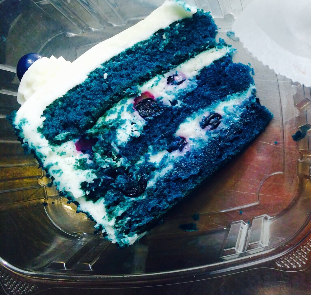 Blue Velvet Cake Los Angeles