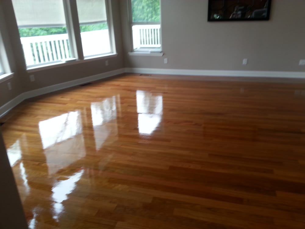 New brazilian cherry installed and finished yelp for Hardwood floors quality