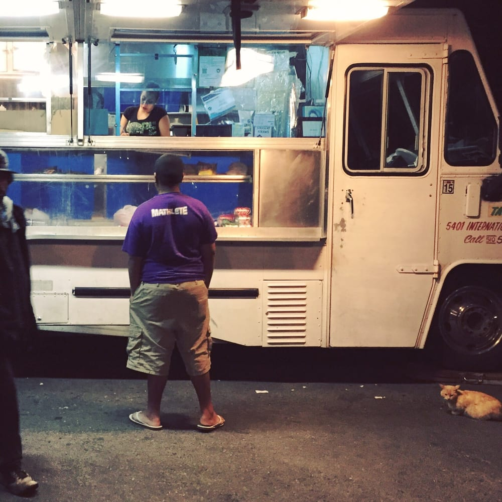A Cat, A Mathlete, And A Veterano Walk Up To A Taco Truck