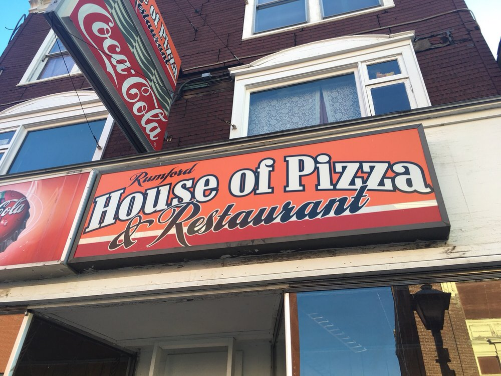 Rumford House of Pizza: 39 Congress St, Rumford, ME