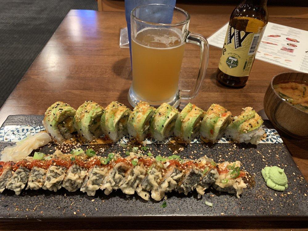 Food from Momiji Sushi Bar & Teriyaki