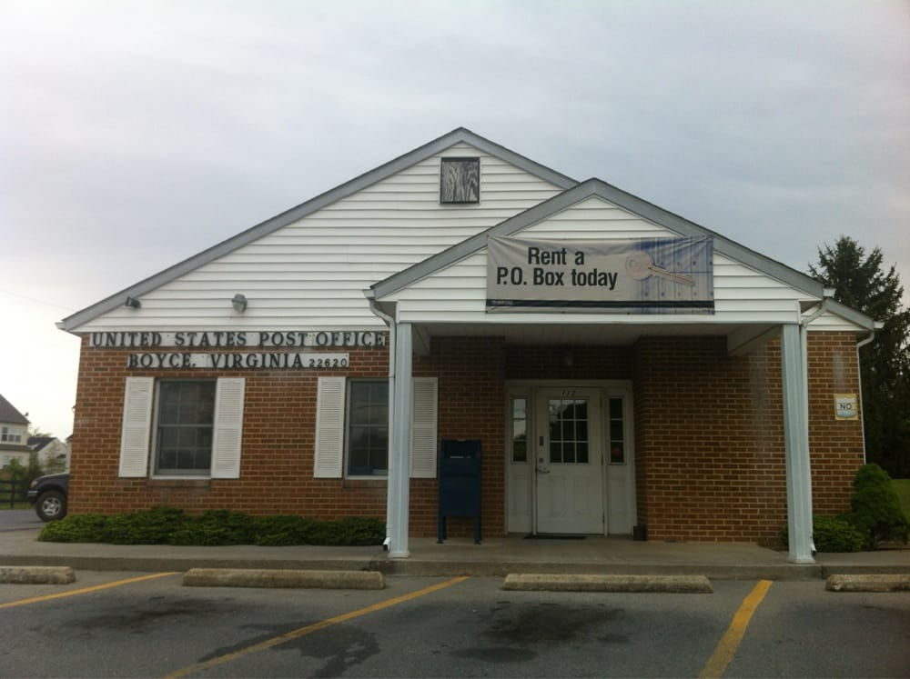 United States Post Office: 112 W Main St, Boyce, VA