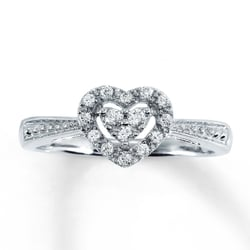 photo of kay jewelers westminster ca united states heart halo diamond engagement - Kay Jewelers Wedding Rings For Her
