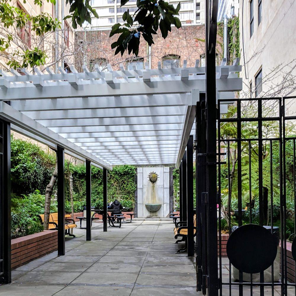 Empire Park: Kearny St & Commercial St, San Francisco, CA
