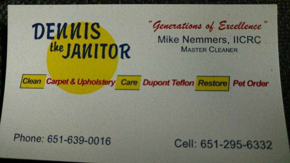 Dennis The Janitor: 1987 245th Ave, Luck, WI