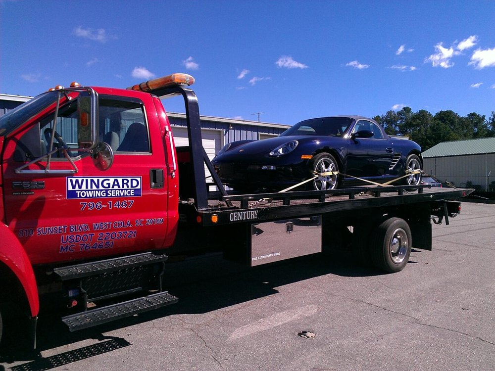 Wingard Towing Service: 1809 Augusta Rd, West Columbia, SC