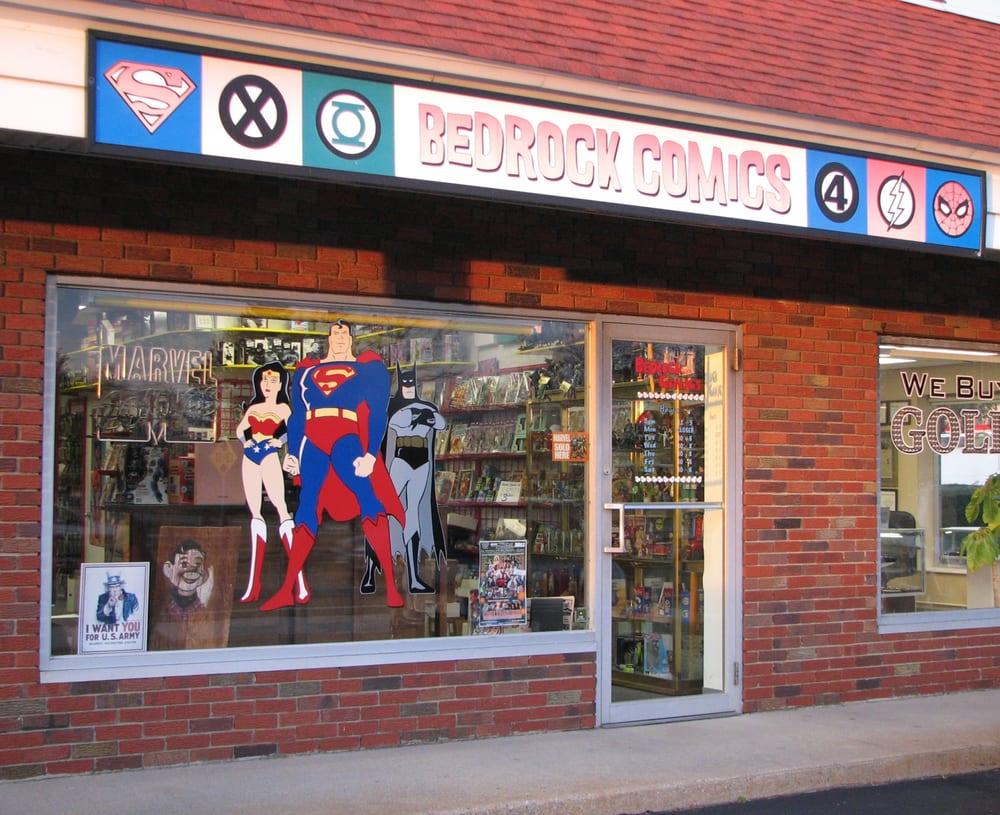 Bedrock Comics: 371 Worcester Rd, Framingham, MA