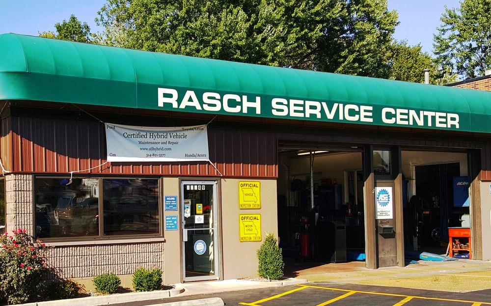 Rasch Automotive Service Center: 11149 Manchester Rd, Kirkwood, MO
