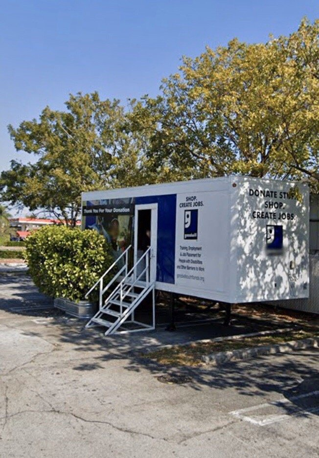 Goodwill Donation Trailer: 10700 NW 58th St, Doral, FL