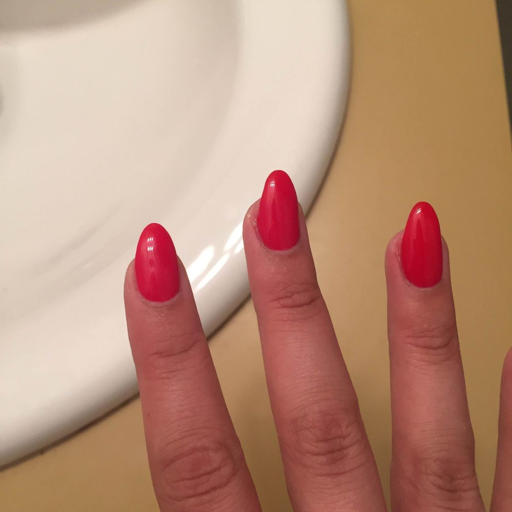 Photo Of Star Nails Toronto On Canada I Asked For Medium Length