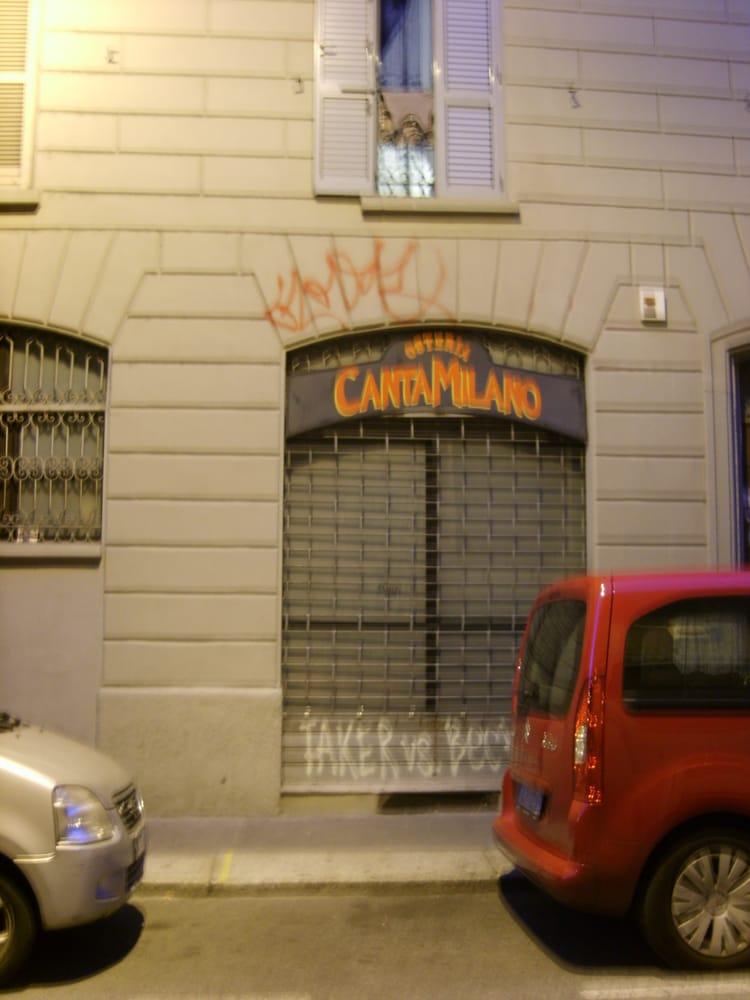 Osteria cantamilano chiuso cucina italiana via - Osteria porta cicca milano ...