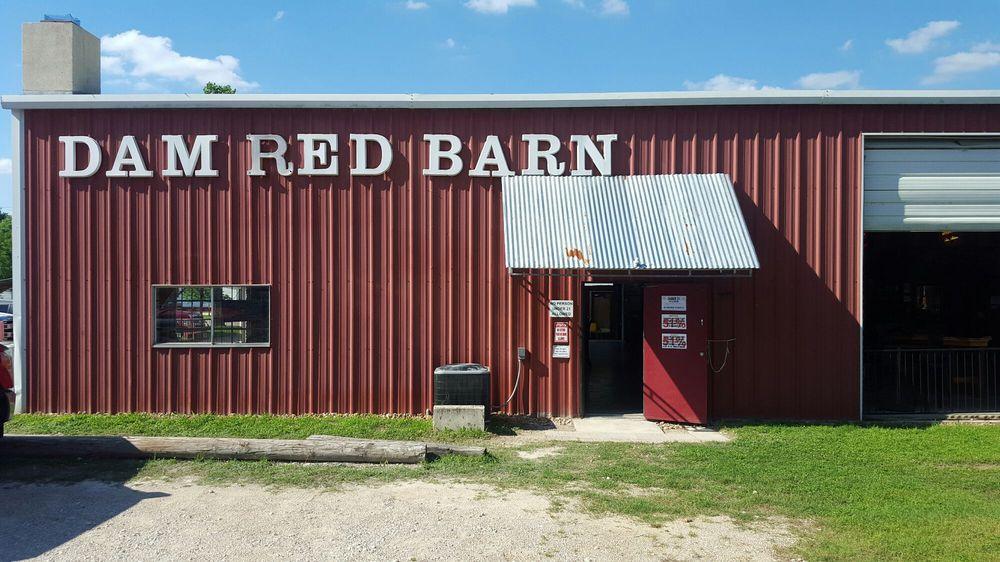 Dam Red Barn: 16520 S Access Rd, Canyon Lake, TX