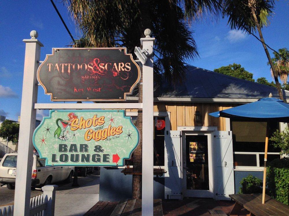 Tattoos & Scars Saloon: 512 Greene St, Key West, FL