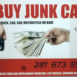 Cash for junk cars - Car Buyers - Houston, TX - Phone Number
