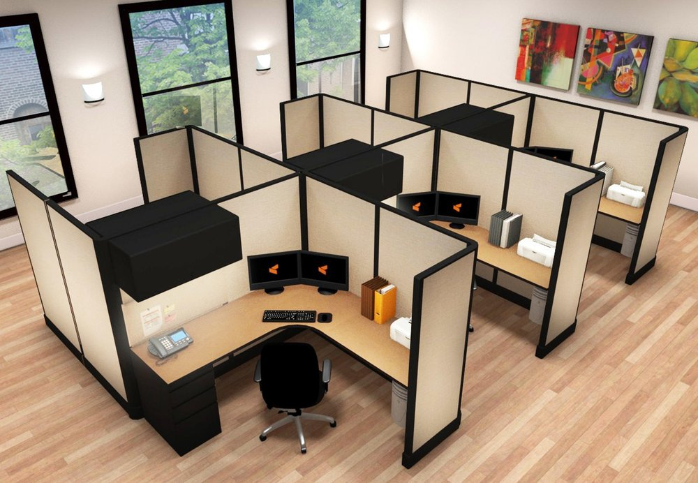 new office cubicles aka partitions or panels yelp rh yelp com denver home office furniture denver office furniture stores